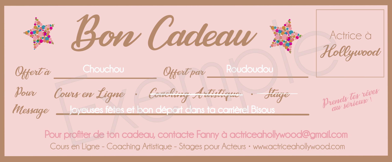 Cours en Ligne pour Acteur et Actrice. Formation. Ecole. France. Fanny Pierre. Actrice à Hollywood.